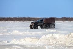 Homemade cross-country vehicle Stock Images