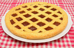 Homemade crostata Royalty Free Stock Photography