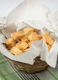 Homemade croutons Royalty Free Stock Photos