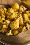 Homemade Crunchy Caramel Popcorn Stock Photo