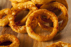 Homemade Crunchy Fried Onion Rings Royalty Free Stock Photography
