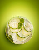 Homemade Cucumber Lemonade Royalty Free Stock Photography
