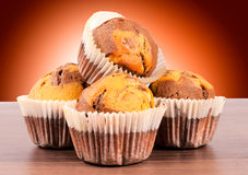 Homemade cup cakes Royalty Free Stock Photography