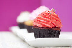 Homemade Cupcake Stock Image