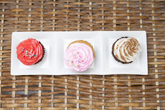 Homemade Cupcake Royalty Free Stock Photos