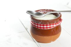 Homemade Curd Stock Photo