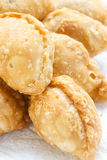 Homemade curry puff. Royalty Free Stock Photos
