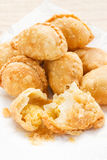 Homemade curry puff. Royalty Free Stock Images