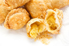 Homemade curry puff. Stock Image