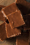 Homemade Dark Chocolate Fudge Royalty Free Stock Image