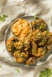 Homemade Deep Fried Chicken Livers stock photos