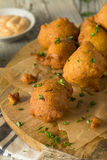 Homemade Deep Fried Hush Puppies Royalty Free Stock Photo