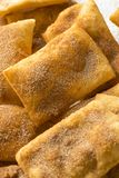 Homemade Deep Fried Mexican Sopapillas. With Cinnamon Sugar Royalty Free Stock Image