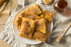 Homemade Deep Fried Mexican Sopapillas Royalty Free Stock Images