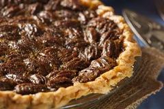 Homemade Delicious Pecan Pie Stock Photo
