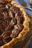Homemade Delicious Pecan Pie Stock Photography