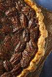 Homemade Delicious Pecan Pie Stock Photos