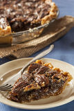 Homemade Delicious Pecan Pie Royalty Free Stock Photography