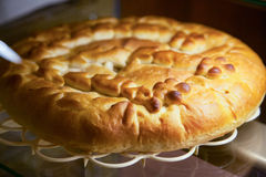 Homemade delicious pies. Selective focus Royalty Free Stock Photo