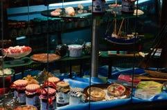 Homemade Dessert Shop Stock Photo
