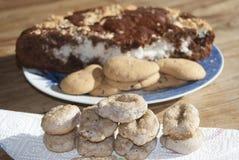 Homemade desserts Stock Image