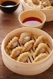 Homemade dim-sum asian dumplings Stock Photos
