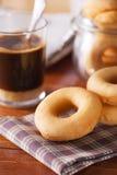 Homemade donut for breakfast Royalty Free Stock Images