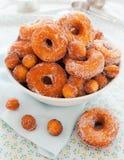 Homemade donut nature Stock Photography