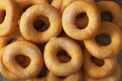 Homemade donut with sugar Stock Image
