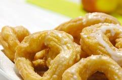 Homemade Donuts. Closeup of fresh homemade donuts Stock Image