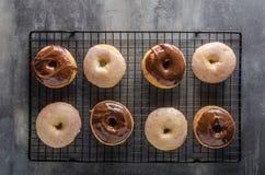 Homemade donuts delish Royalty Free Stock Photo