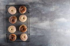 Homemade donuts delish Stock Image