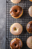 Homemade donuts delish Royalty Free Stock Images