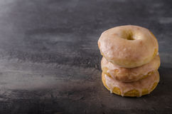 Homemade donuts delish Royalty Free Stock Image