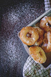 Homemade donuts Royalty Free Stock Photography