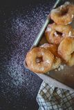 Homemade donuts Royalty Free Stock Photos