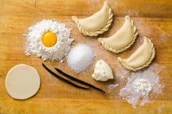 Homemade dumplings Royalty Free Stock Photos