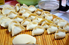 Homemade dumplings Royalty Free Stock Images
