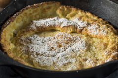 Homemade Dutch Baby Pancake Stock Photos