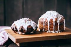 Homemade Easter Cake for Easter celebrating. Stock Photo