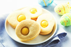 Homemade easter cookies Royalty Free Stock Photos