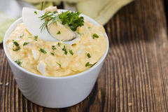 Homemade Egg Salad Stock Images
