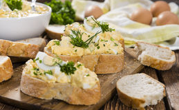 Homemade Egg Salad Royalty Free Stock Photography