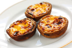 Homemade egg tart Royalty Free Stock Photo
