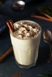 Homemade Eggnog Ice Cream Milkshake Royalty Free Stock Photo