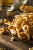 Homemade Fatty Pork Rinds Royalty Free Stock Photos