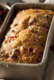 Homemade Festive Cranberry Bread Stock Photo