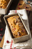 Homemade Festive Cranberry Bread Royalty Free Stock Photos