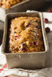 Homemade Festive Cranberry Bread Stock Photography