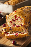 Homemade Festive Cranberry Bread Royalty Free Stock Photography